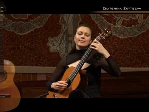 Ekaterina Zaytseva, Palau de la Musica Catalana, Barcelona 2009 - Catala