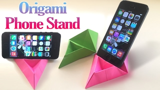 How to Make an Origami Phone Stand Step by Step | Paper Phone Stand Tutorial | Origami VTL
