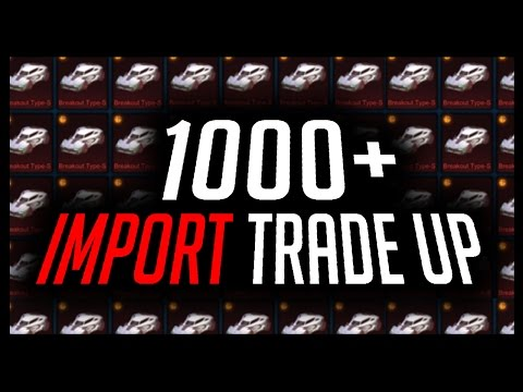 TRADING UP 1000+ IMPORTS (WORLD RECORD?)!!! SO MANY PAINTED EXOTICS!!!🔴 ROCKET LEAGUE LIVE