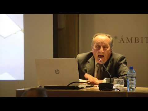 Conferencia Salvador Vila en la Real Academia de Bellas Artes de San Carlos