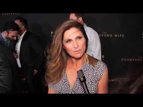 LA Premiere of The Zookeeper's Wife Interview w/ Niki Caro