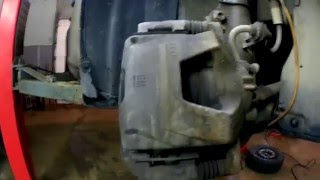 видео тормозные колодки шевроле круз