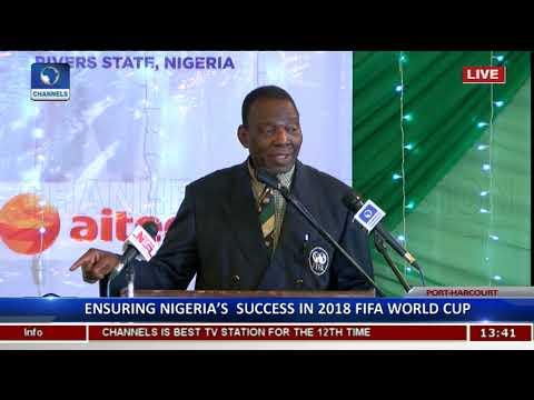 Ensuring Nigeria's Success In 2018 FIFA World Cup Pt.7 |World Cup Seminar|