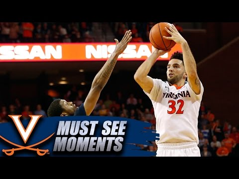 UVA Basketball's London Perrantes Hits Game-Winning 3-Pointer
