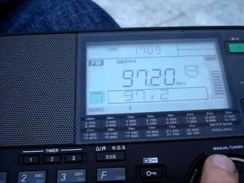A very fast FM scan in Serres, Greece 22.01.2013