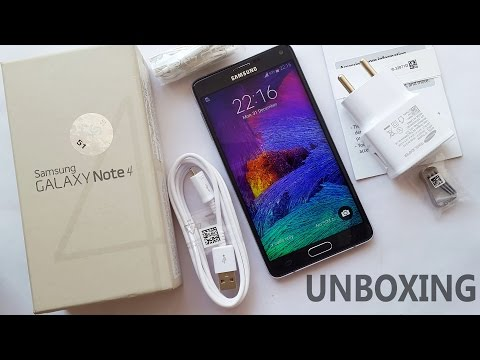 Samsung Galaxy Note 4 Unboxing 4K