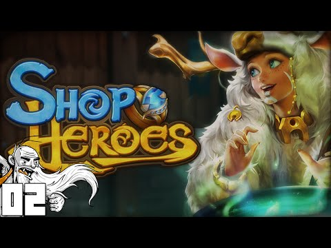 """EXPANDING THE BUSINESS!!!"" Shop Heroes iOS Android 1080p HD walkthrough"