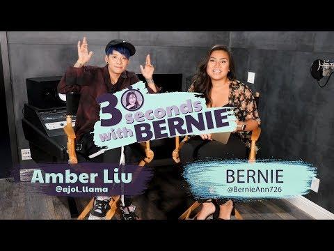 30 Seconds With Bernie Featuring Amber Liu