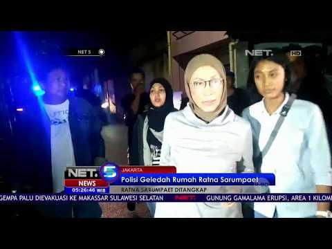 Rumah Ratna Sarumpaet Digeledah, Polisi Menyita Sejumlah Alat Bukti - NET 5