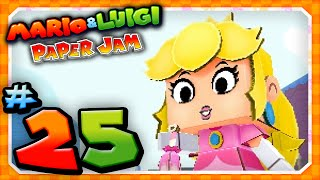 Mario and Luigi: Paper Jam - Part 25: Papercraft Peach vs Papercraft Bowser Jr!