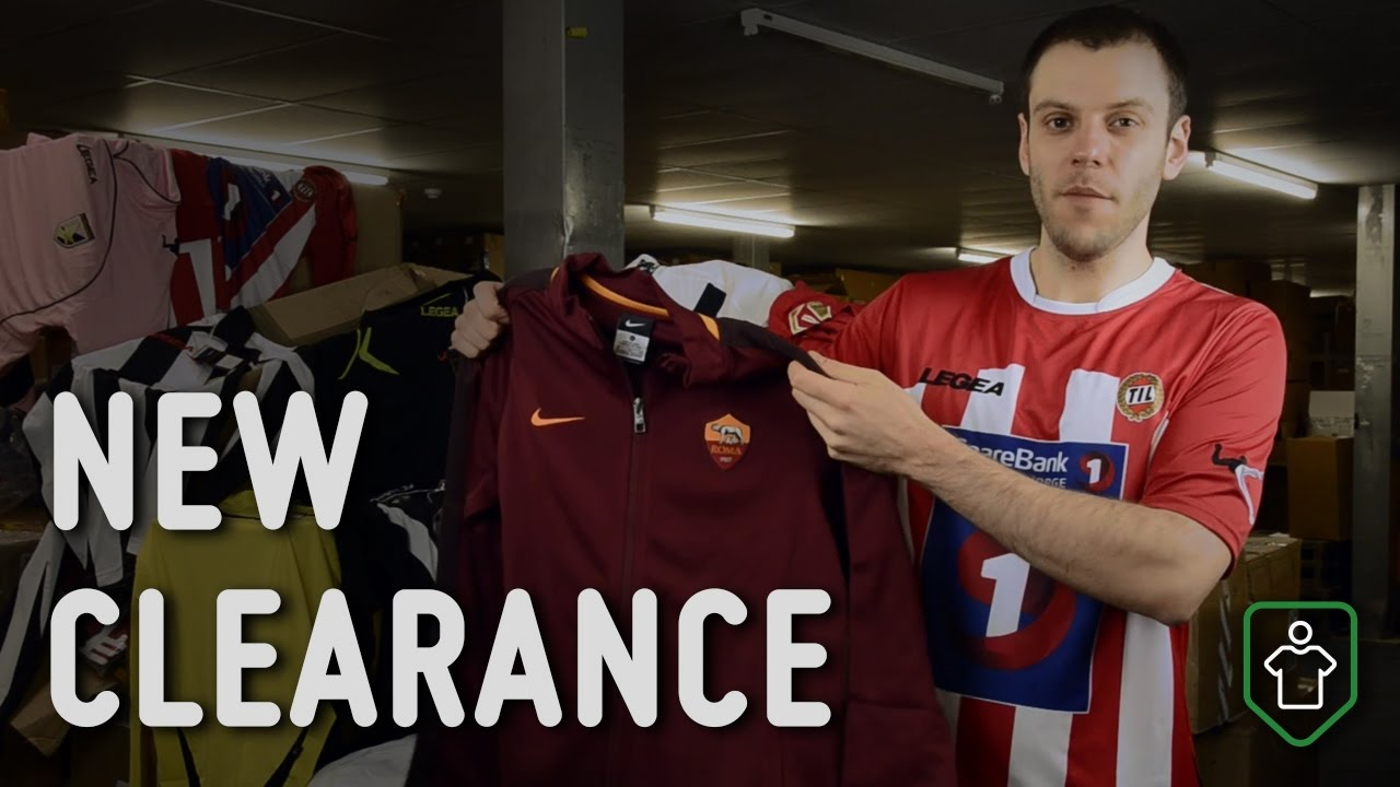 Classic Football Shirts  This Week s Top Clearance Deals - YouTube b45094ce2