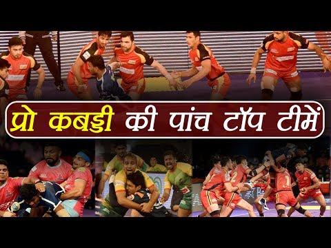 Pro Kabaddi League 2017: Top 5 teams in tournament's history | वनइंडिया हिंदी