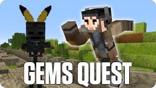 ¡MUERTE POR ARBOL! GEMS QUEST | Minecraft