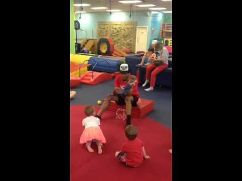 Mr James puppet show at MyGym