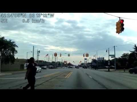 Detroit, Michigan, U.S.A. (Shiawassee Street then Grand River Avenue)