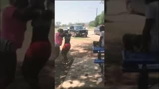 JuJu vs Kia round 2 (Fort Worth Girl fight) (Ghetto Fight)