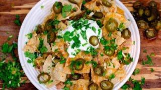 Denver Broncos Green Chili Nachos  Tasty Tailgate Recipe