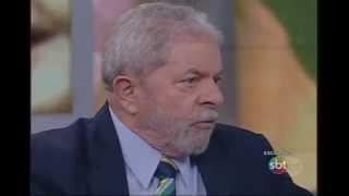SBT Brasil (05/11/15) Kennedy Alencar entrevista o ex-presidente Lula - Parte 1
