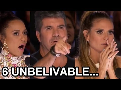 6 MOST UNBELIEVABLE, SHOCKING and AMAZING Auditions on AMERICA'S GOT TALENT