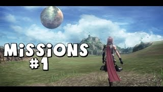Let's Play Final Fantasy XIII All Missions Part 1