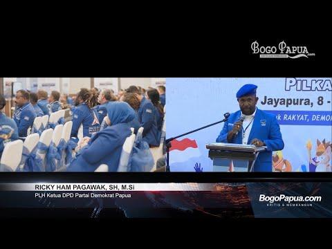 Penutupan Rapimda DPD Partai Demokrat Papua 2020