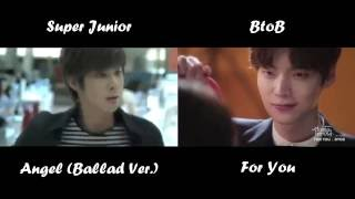 Super Junior (Angel) VS  BtoB (For You)