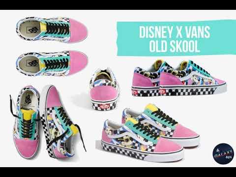 Disney X Vans - Discover Mickey's 90th Anniversary Collection