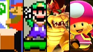 Super Mario Maker 2 All Character Victory Animations (Switch)