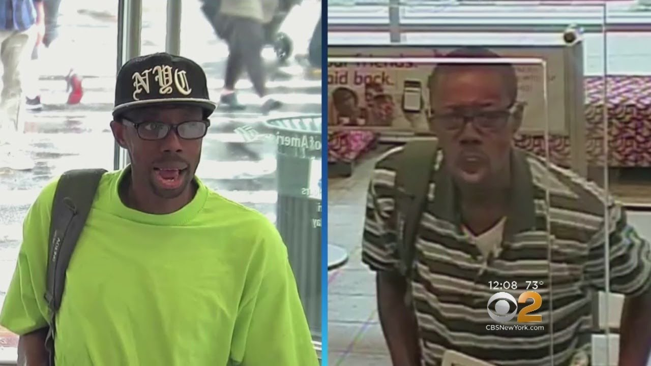 4857de76077 FBI   Broadway Bandit  Wanted In Manhattan Bank Robbery Spree - YouTube