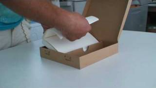 Cardboard Packaging Design Foldlife -- Made From One Sheet No Glue.mpg