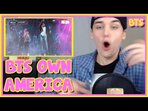 BTS - FAKE LOVE - BILLBOARD MUSIC AWARDS PERFORMANCE REACTION [SLAYED]