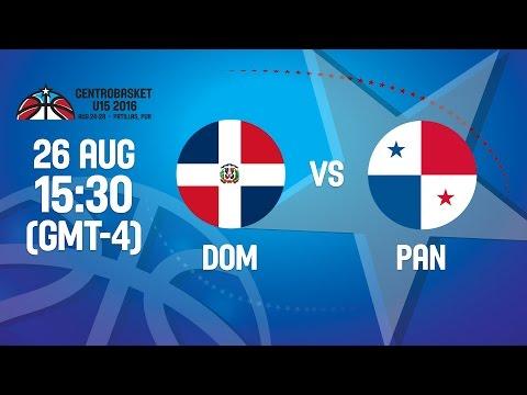 Dominican Republic v Panama - Group B - 2016 FIBA Centrobasket U15 Championship