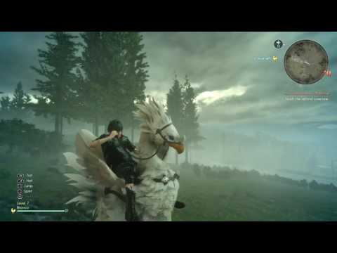 Final Fantasy XV - The Hexatheon's Blessings - Using MP3 player (Chapter 5)