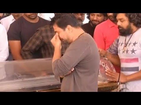 Hero Arjun Gets Very Emotional About Ambarish   #Ambarish   Manastars