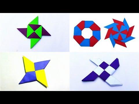 4 Easy Paper Ninja || Paper Ninja Star || DIY