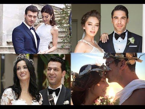 Турецкие актеры и их жены