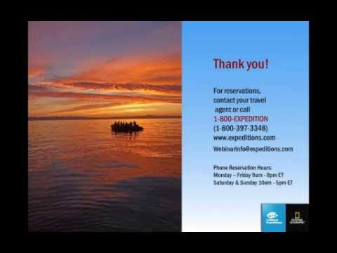 Baja California the Sea of Cortez Webinar