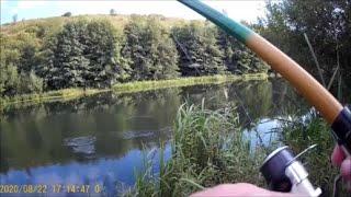 Рыбалка на реке Зуша Ловля плотвы