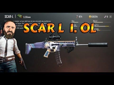 SCAR - L İLE 1.OLMAK - SCAR - L ÖZELLİKLERi - Mobile PUBG