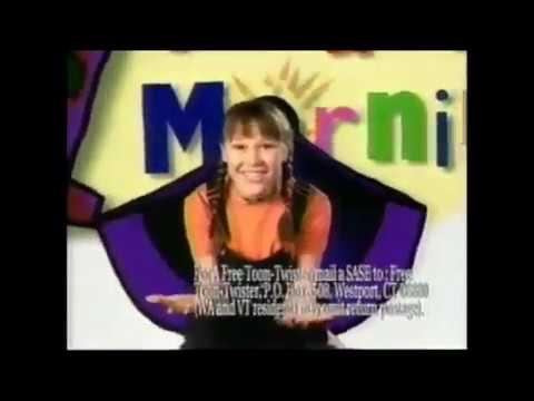 Cara Delizia  ABC Toon Twister Commercial