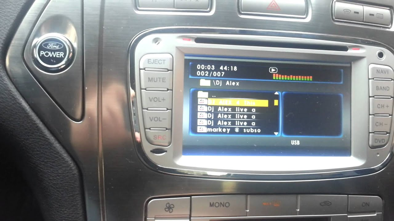 Vaak Radio dedykowane Ford Mondeo MK4 - YouTube UG-26