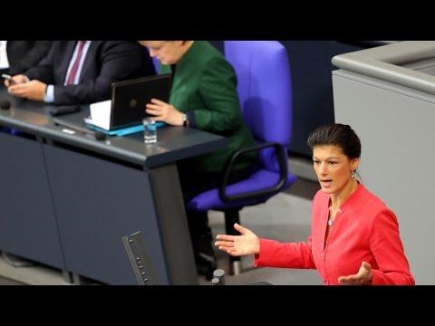 Sahra Wagenknecht, DIE LINKE: Die Menschen wollen kein Weiter-so mehr