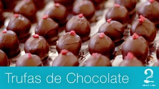 Trufas de Chocolate | Mini Doc - Gourmet a dois