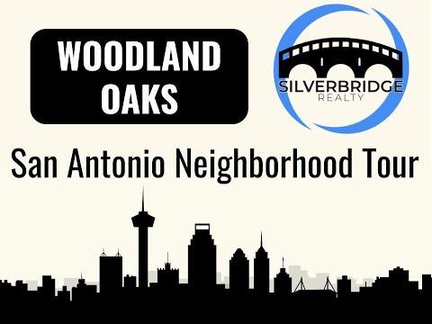 San Antonio Neighborhoods: WOODLAND OAKS - Dash Cam Tour 2018