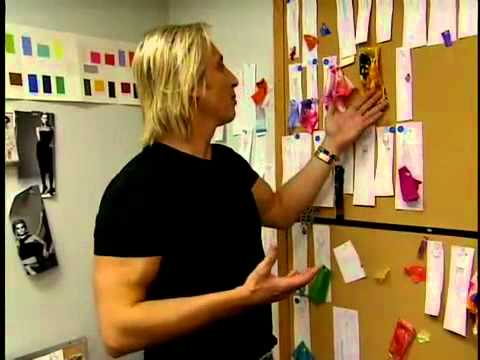 Inside David Meister's Studio with the Fashion Team