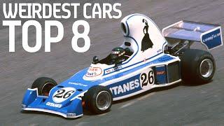 Top 8 Weirdest Racing Cars In History!