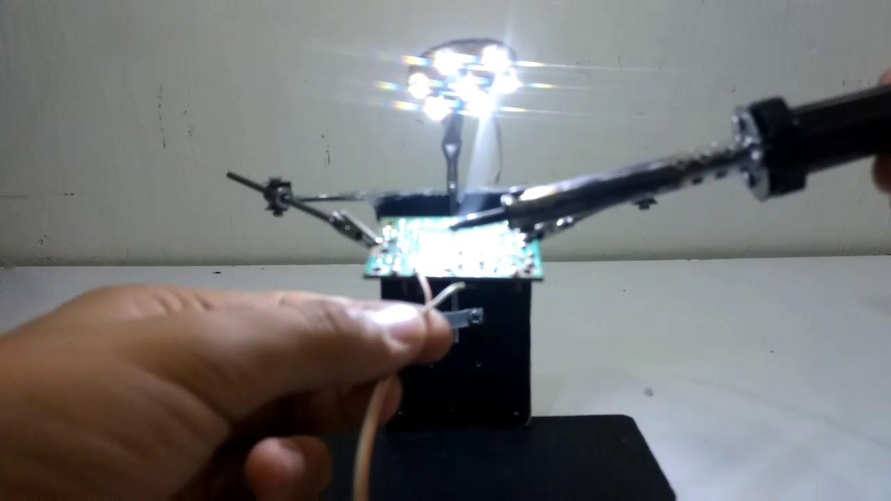 Cómo Hacer Tercer Brazo Para Soldar Inventos Roboticos Caseros Youtube