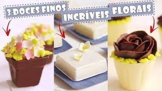 Tiago Mauro 3 Doces incríveis florais