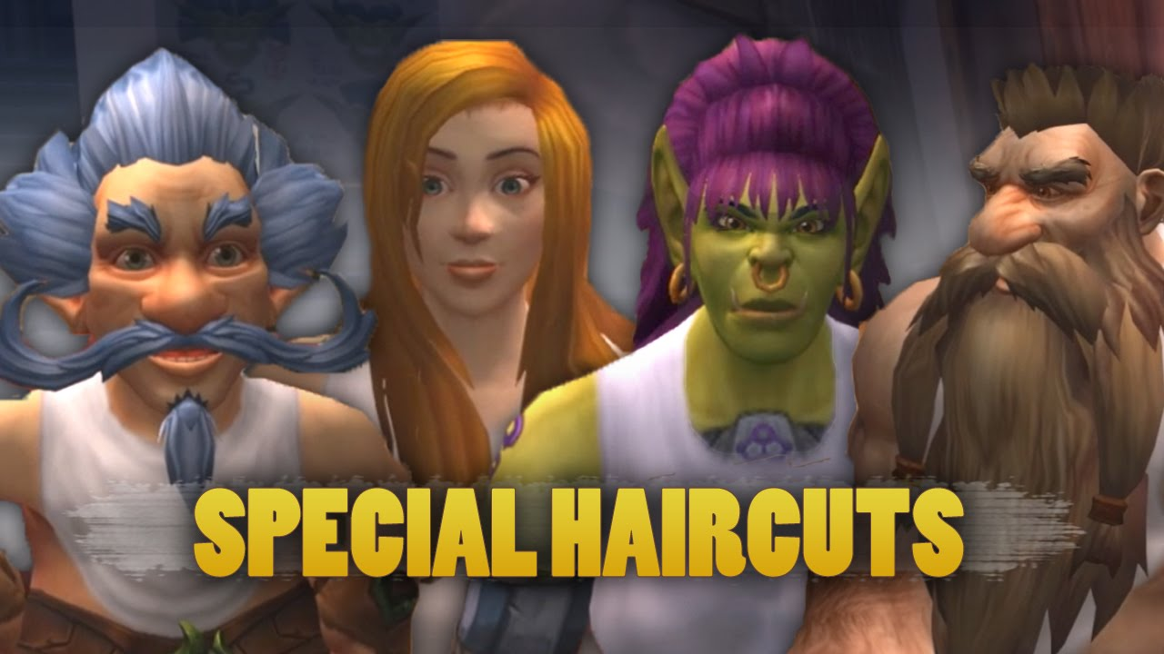 World Of Warcraft Warlords Of Draenor Beta Special Haircuts