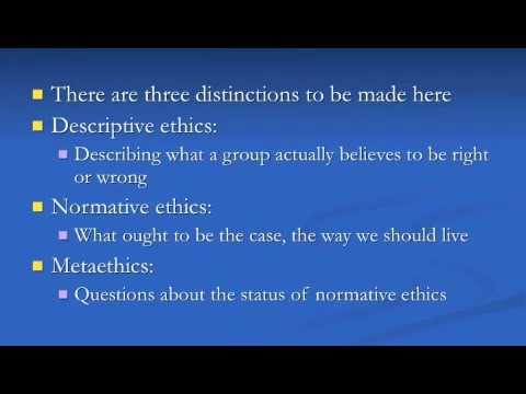 Philosophical Ethics